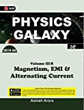 Physics Galaxy: Magnetism, EMI & Alternating Current (2019-20) - Vol. III B