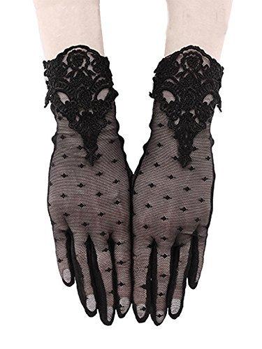 GUIPURE GLOVES - Gothic Mesh Gloves - Gothic / Evening Wear