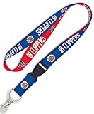 WinCraft NBA Los Angeles Clippers Premium Lanyard Key Chain, 23 inches long, 1 inch wide