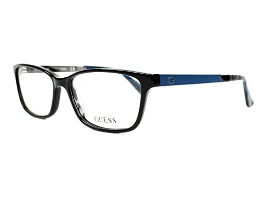 55394ce862 Image Unavailable. Image not available for. Color  Eyeglasses Guess GU 2628  001 shiny black