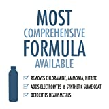 Aquarium Water Conditioner for Fish Tanks - All-in-One Aquarium Formula Does It All - Removes Ammonia, Nitrite, Chlorine, Chloramines & Heavy Metals - Adds Electrolytes and Slime Coat - Reduces Stress