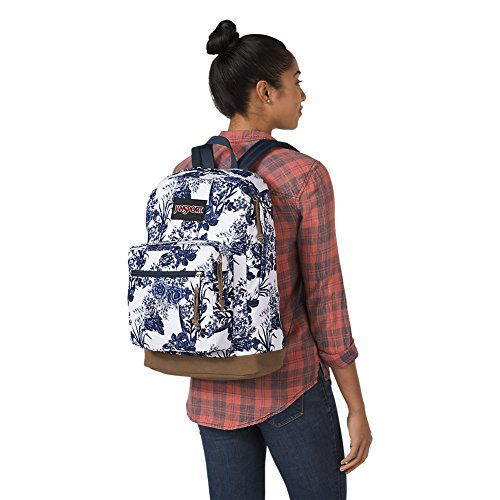 Large Product Image of JanSport Right Pack Expressions Laptop Backpack - White Artist Rose