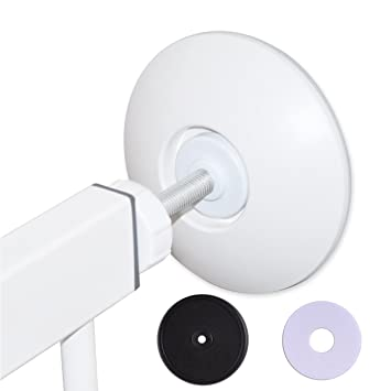 Amazon Wall Protector Baby Pressure Gate Guard Protect Door Stair Surface Also For Shower Curtain With Tension Mounted Rods 2 Pack White By