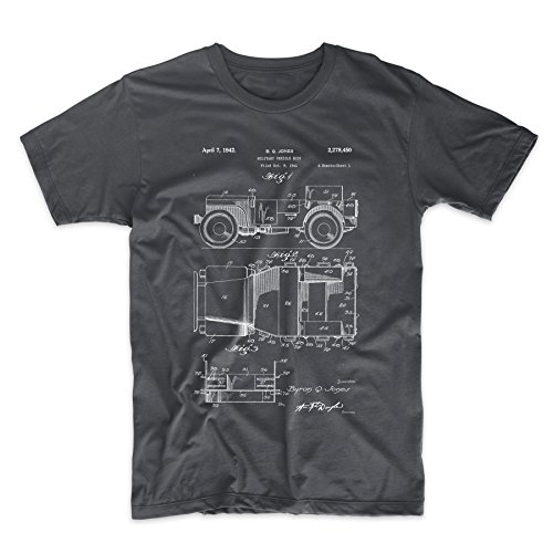 Willy's Jeep Patent T Shirt