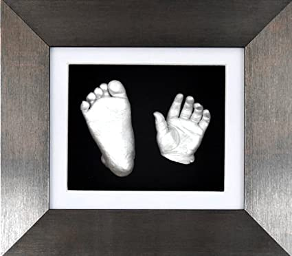 "BabyRice – Kit para crear moldes con 6 x 5 ""pulido peltre 3d caja"