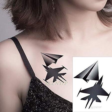 tzxdbh Impermeable Ballena Etiqueta engomada del Tatuaje en el ...