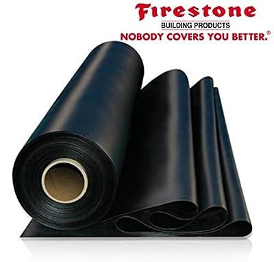 7.5' X 90' Firestone RubberGuard 45 Mil Epdm Roofing Rubber