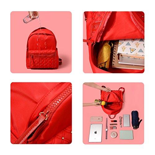 option sac 2 dos College à marée sac pour Portable vent personnalité Noir couleurs Double bandoulière d'école loisirs ZCM petit mode en sac femmes Oxford tissu à pqS5wHx1