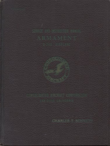 - Service and Instruction Manual : Armament B-24D Airplane