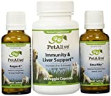 PetAlive Sinu-Rite, Respo-K and Immunity & Liver Support UltraPack