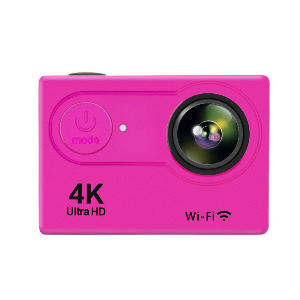 Ergou Aktions-Kamera 4K HD Wasserdichte Kamera, die Wasserdichte Wifi Mini-Reise-HD-Luftbewegungs-Kamera DV Reitet