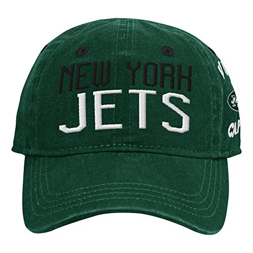 (Outerstuff NFL NFL New York Jets Infant My First Slouch Hat Hunter Green, Infant One Size )