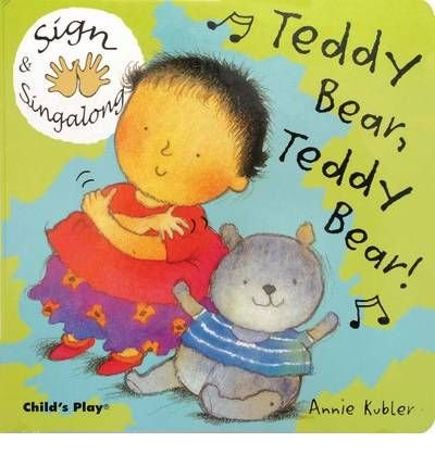 Download Teddy Bear, Teddy Bear: ASL (American Sign Language) (Sign & Singalong) (Board book) - Common PDF