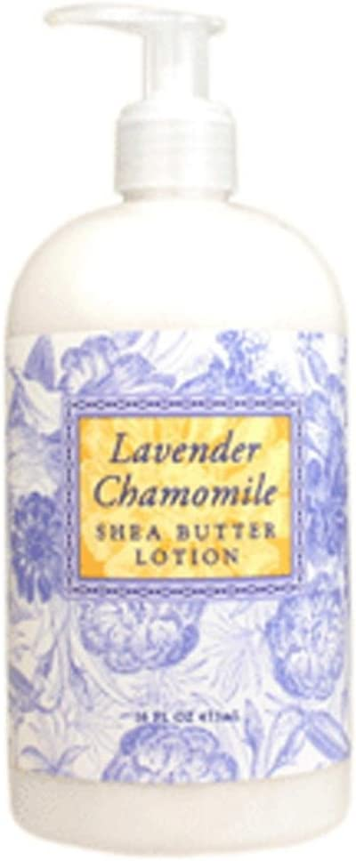 Greenwich Bay Trading Co. Shea Butter Lotion, 16 Ounce, Lavender Chamomile