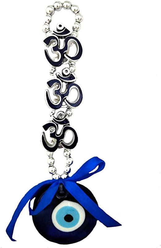 Lucky Evil Eye Car Pendant Car Rearview Mirror Hanging Ornament Car Decoration