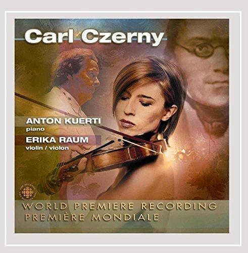 Czerny: Violin Sonata in A Major / Concert Variations, Op. 1 by Erika Raum (2002-05-03) (Erika 5)