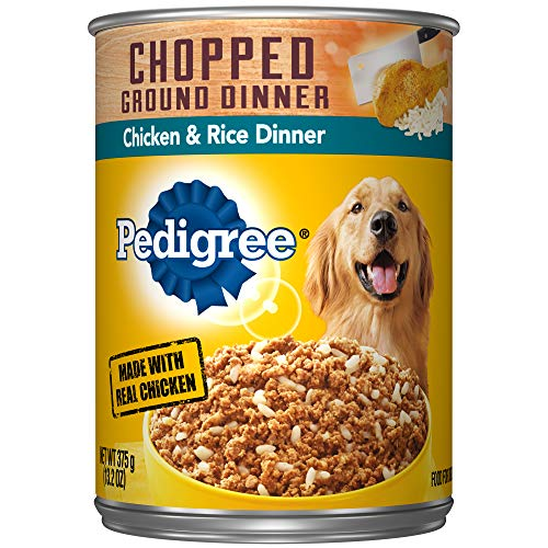 Pedigree Chopped Ground Dinner Chicken & Rice Dinner Adult C