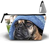 Hip Hop Puggle Cosmetic Bags Travel Toiletry Pouch Portable Trapezoidal Storage Pencil Holders