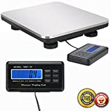 New 660LBS LCD Postal Platform Digital Scale Shipping Pet Floor Bench Weigh ....