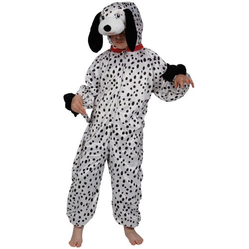 Be Wicked Childrens Fancy Dress Up Halloween Costume Dalmatian M -