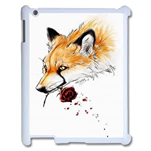 Fox Pattern Hard Snap Phone Case For Ipad Case 2,3,4HSL403316
