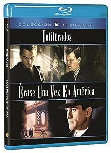 Pack: Érase Una Vez En América + Infiltrados Blu-ray: Amazon.es: Robert De Niro, James Woods, Leonardo DiCaprio, Matt Damon, Sergio Leone, Martin Scorsese, Robert De Niro, James Woods, Claudio Mancini, Brad Grey: