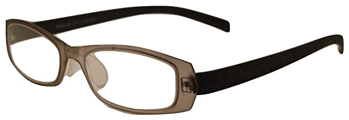 Amazon.com: LightNComfy Reading Glasses with Flexible Frames/brown ...