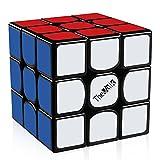 D-FantiX Qiyi The Valk 3 Speed Cube 3x3 Magic Cube Puzzle Black