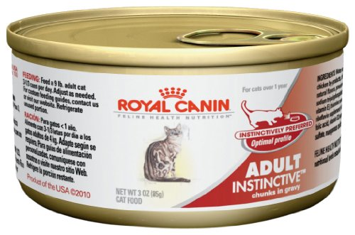 Royal Canin Adult Instinctive Thin Slices in Gravy Wet Cat Food, 3 oz.