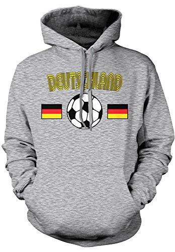 Amdesco Men's Deutschland Soccer, German Germany Football Ho
