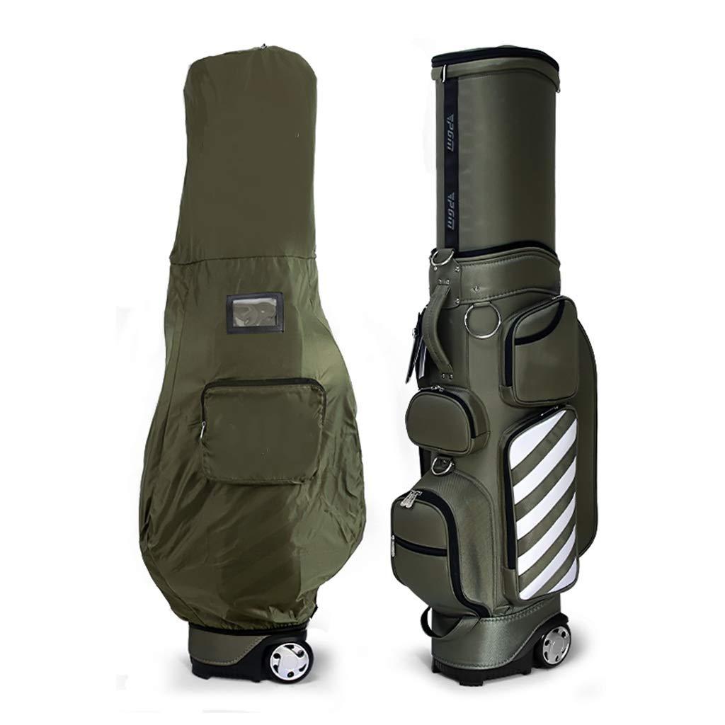 滑車の大容量の軽い携帯用ベルトが付いているゴルフバッグキューバッグの望遠鏡袋 (色 : B) B07PK1Z7ZG B