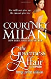 The Governess Affair (Large Print Edition)