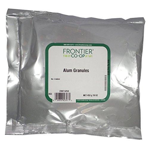 CrystalPure Alum Granules - 1 lb,(Frontier)