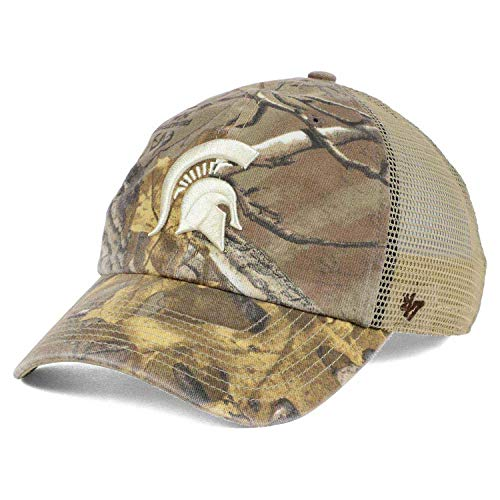 '47 Michigan State Spartans Sawgrass Realtree Xtra Camo Mesh Slouch Clean Up Snapback Cap Hat