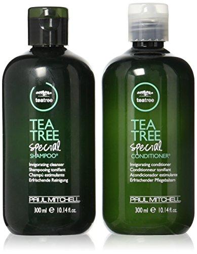 Paul Mitchell Tea Tree Special Shampoo, Conditioner & Firm Hold Gel set (Citrus Shampoo Sensation)