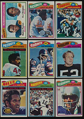 1977 topps football complete set - 9