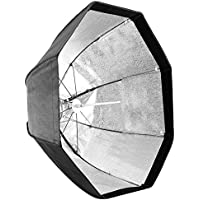 Neewer 31.5 inches/80 centimeters Octagonal Umbrella Softbox with Bowens Mount, Silver Reflective Interior and Carrying Bag for Speedlites, Product Photography, Video Shooting