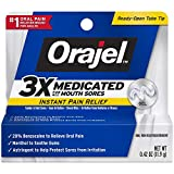 Orajel 3X Medicated For All Mouth Sores Gel .42 OZ
