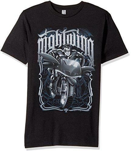 Trevco Batman Nightwing Biker Adult T-Shirt at Gotham City Store