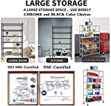 """Storage Metal Shelf 6 Tier 82""""x48""""x18"""" Wire"""