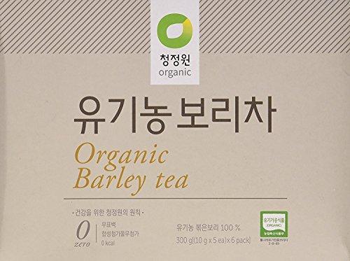 (5 PACK)100% Organic Barley tea, 30 teabags SUGAR FREE & CAFFEINE FREE