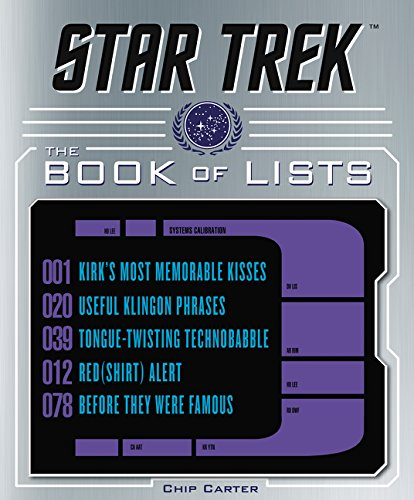 Star Trek Book of Lists