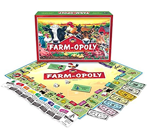 Farm-Opoly: Late for the Sky: Amazon.es: Juguetes y juegos