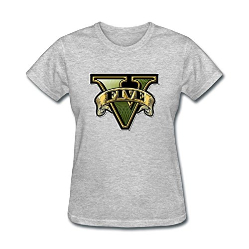 Price comparison product image SLJD Women's GTA V Grand Theft Auto Design Short Sleeve T Shirt