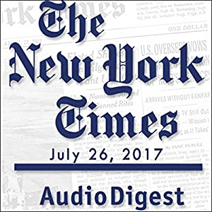 July 26, 2017 Newspaper / Magazine