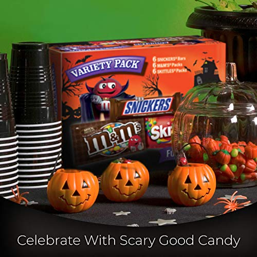 Large Product Image of MARS Chocolate and More Full Size Halloween Candy Variety Mix 18-Count Box
