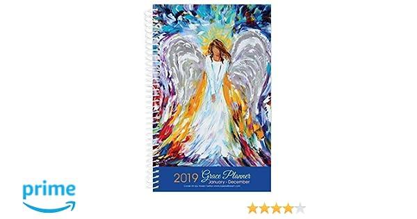Christian December Calendar 2019 Amazon.: 2019 Angel Art Inspirational Christian Daily Planner