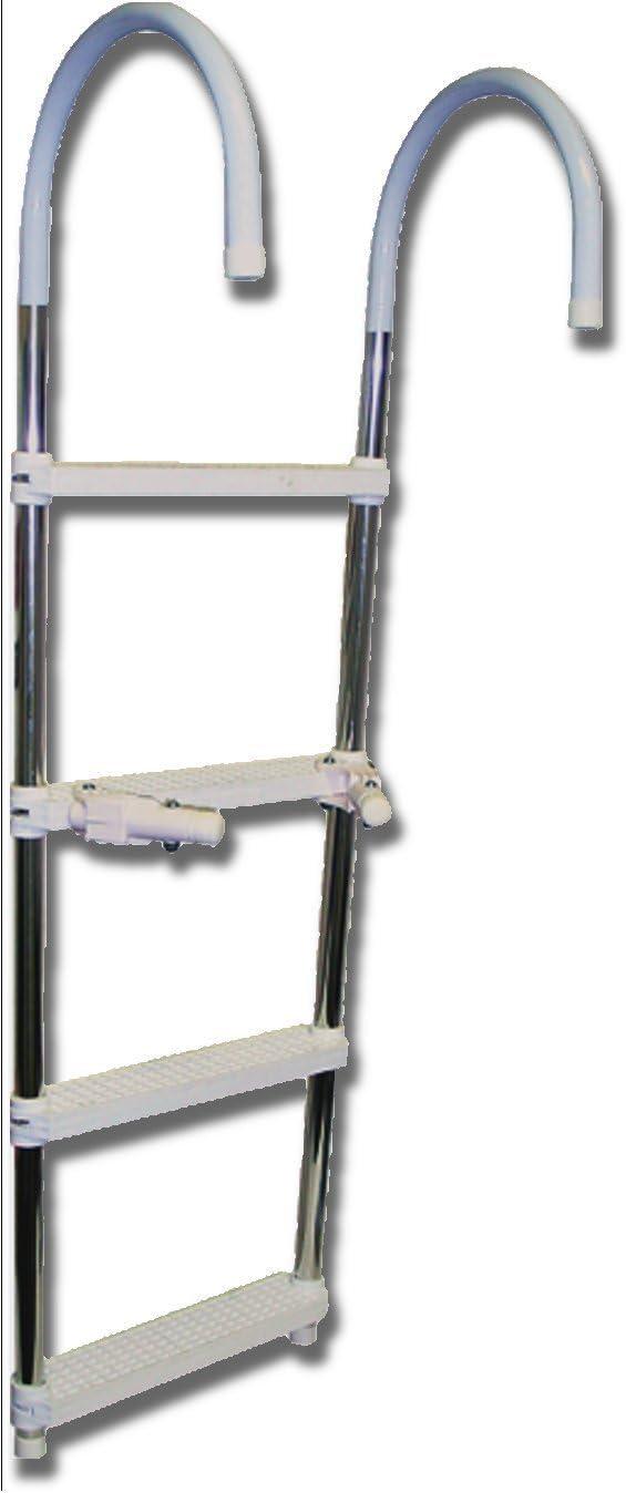 Renewed SeaSense 4-Step Boat Ladder