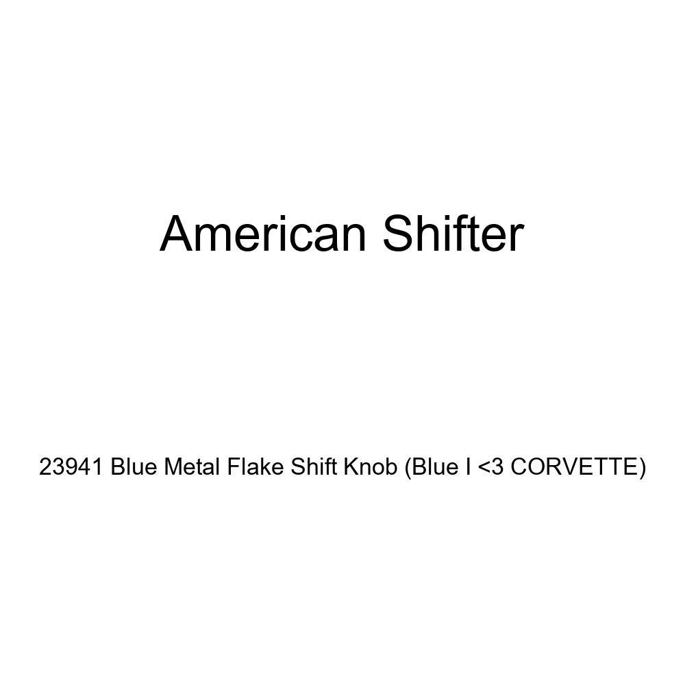 American Shifter 23941 Blue Metal Flake Shift Knob Blue I 3 Corvette