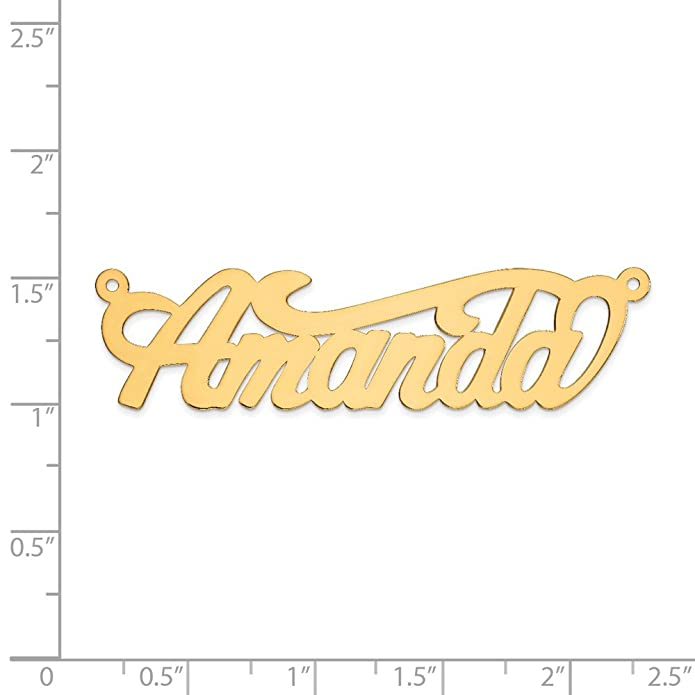 Amazon.com: Hielo quilates de oro amarillo de 14 K .013 ...